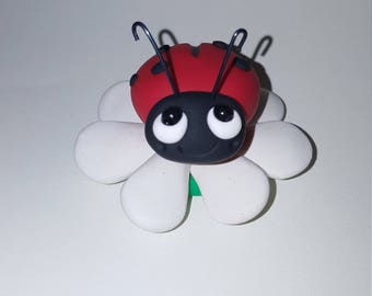 Polymer clay lady bug MADE TO ORDER