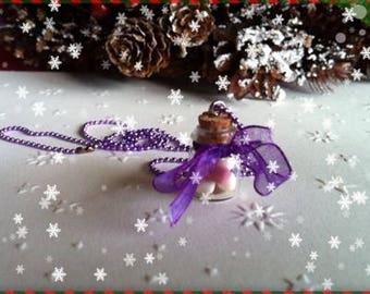 Marshmallows ref 42 vial pendant necklace