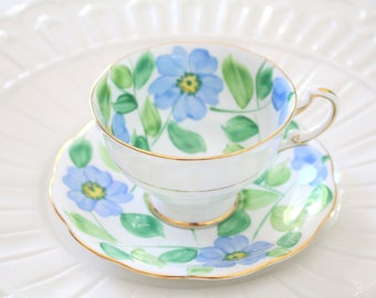 TEA CUP, Viintage, English Bone China, Tea Cup and Saucer, Replacement China, Gifts for Her