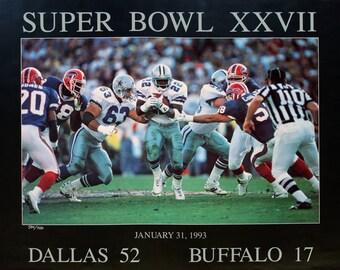 Peter Nickelback-Super Bowl XXVII-1993 Poster