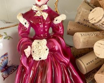 Vintage Florence ceramics Delia figurine