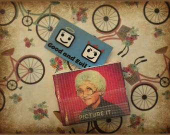 Golden Girls, Duct Tape Wallet, Stay Golden, Good and Evil Creations