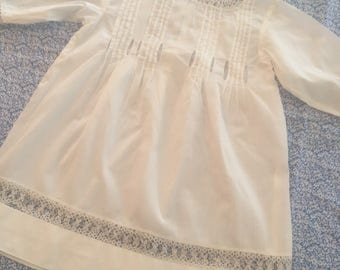 Heirloom dress/gown batiste Christening baby