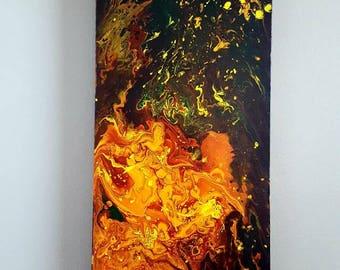 Abstract Original Painting - Burn