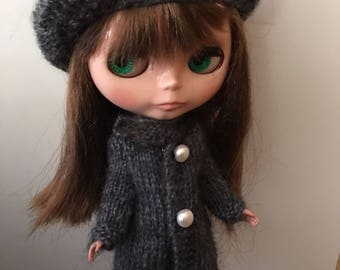 Outfit to Neo Blythe (mohair wool)
