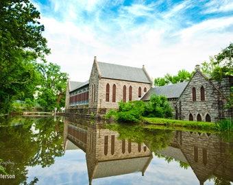 Byrd Park Pump House Photo, Richmond Canal, Historic Park Richmond Virginia, Park photo