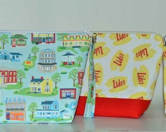 Designer Gilmore Girls project bag