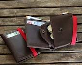 Men's Leather Wallet, Minimalist Wallet ,personalized wallet