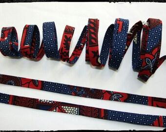 Wax fabric loincloth woodin African