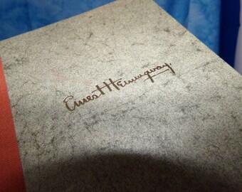 Vintage Book, Ernest Hemingway,  Moveable Feast Book.  Library Of Congressm,  Catalog #  64 - 15441.  Ernest Hemingway Books.