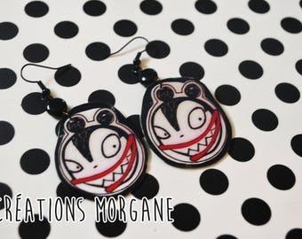 boucle d'oreille vampire/earrings