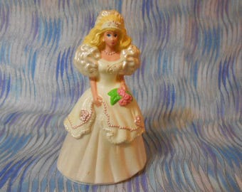 1992 MCDonald Barbie Cake Topper Doll