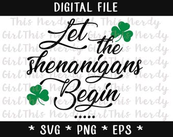 DIGITAL FILE - Let The Shenanigans Begin