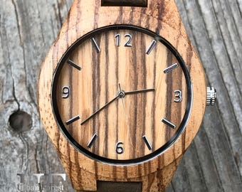 Men Wooden Watches Wood Watch, Engraved Wooden Watch for Men, Graduation Watch, Gifts for Man Watch, Brrother Gift, Boyfriend Gift for Dad