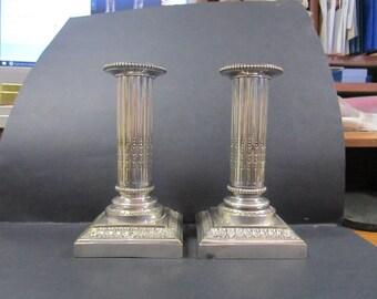 antique circa 1900 Gailar Bayard candle holders