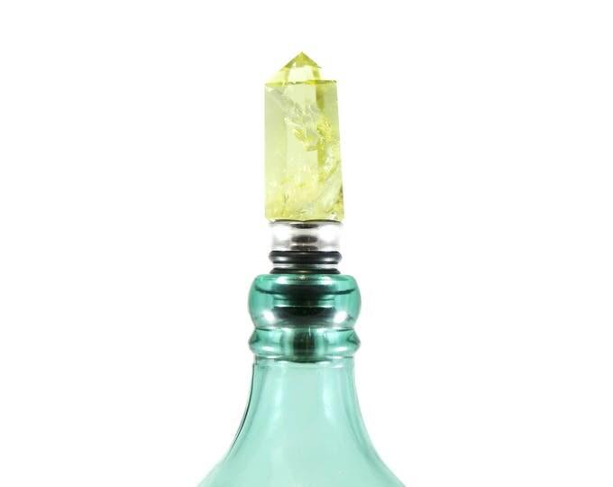 Citrine Bottle Stopper