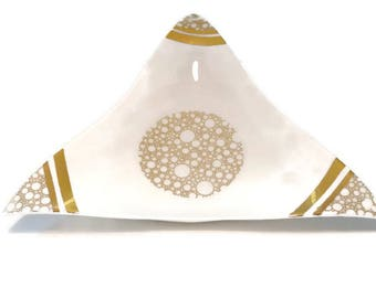 "Limoges porcelain dish ""concorde"""