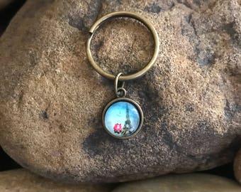 Paris Keychain - Gifts Under 5 - Eiffel Tower Graduation France Gifts - Stocking Stuffer