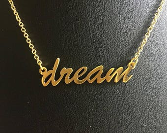 "16"" 'dream' necklace."
