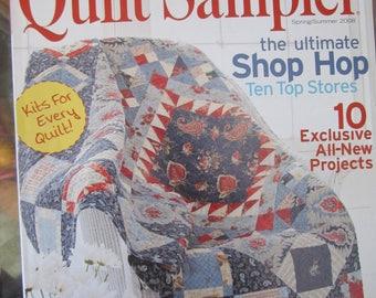 Quilt Sampler Spring/Summer 3008