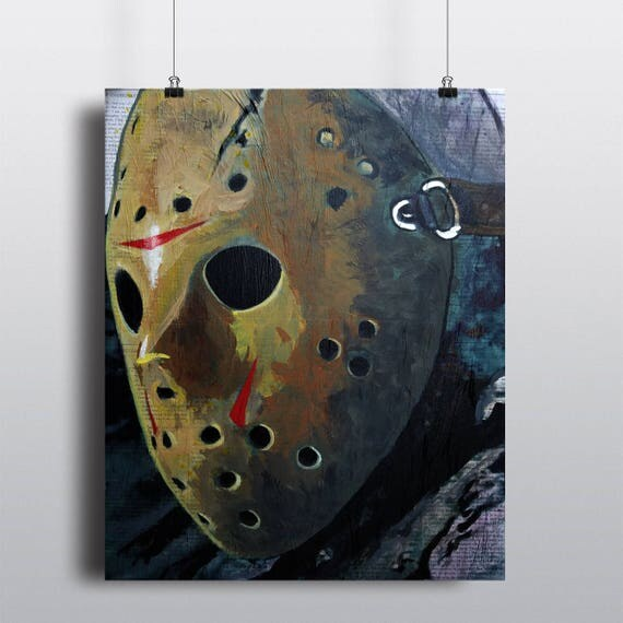 Jason Voorhees Fine Art Print