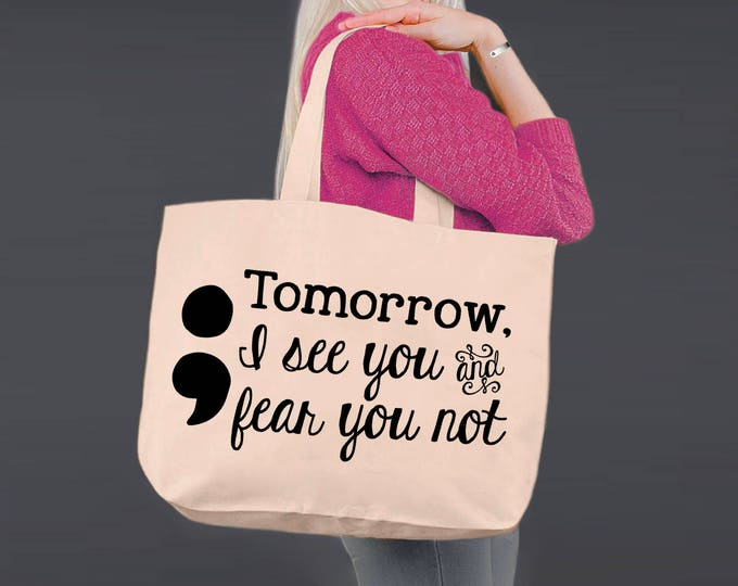 Tote Bag | Canvas Tote Bag | Beach Tote | Canvas Tote | Shopping Tote | Shopping Bag | Fear You Not | Wizard of Oz | Korena Loves