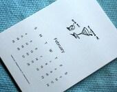 5x7 2018 Printable Calendar - A Fantastic Year - Punny Calendar