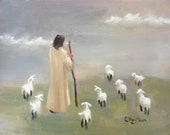 Lead Me, Lord...Original Oil Painting by Maresa Lilley, SND