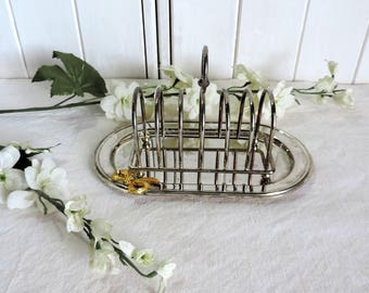 Vintage french silver plate foie gras tray and toast rack. Chrismas, Xmas, Thanksgiving table setting