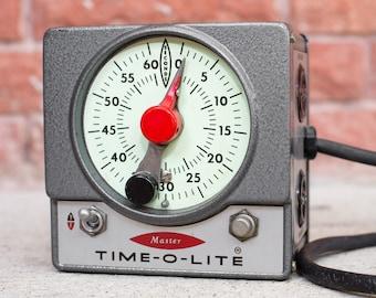 Vintage Time-O-Lite Darkroom Timer