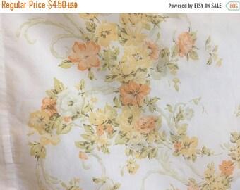 clearance jp stevens utica standard pillowcase vintage bedding retro floral pillow case vintage