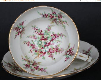 ON SALE HAMMERSLEY Bone China Teacup and Sacuer Set 1912 - 39
