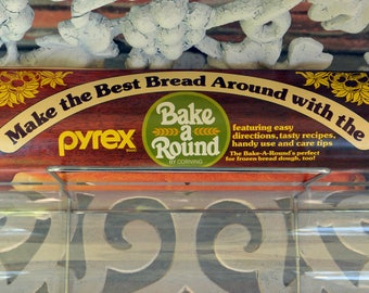 Pyrex Bread Baker - Directions, Recipes & Rack Included - Vintage - Fabulous Homemade Breads!
