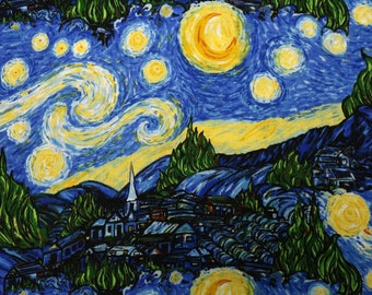 PRE-Order, Starry Night, Knitting Bag, Crochet, Knit, Yarn, Wool, Yarn Storage, Yarn Bag with Hole, Grommet, Handle