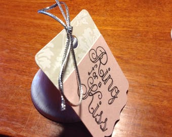 Ring for a Kiss - Bells and Tags
