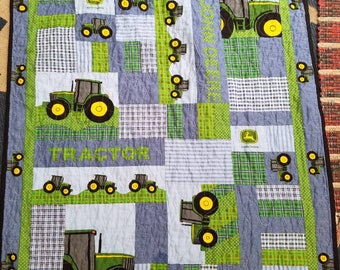 John Deere Tractor Crib, Farm Crib bedding,  Tractor Nursery, Farm Nursery. Boy Crib Bedding, Boy Tractor Nursery, Boy Farm Nursery