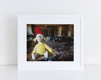 Dr Seuss Doll - Urban Exploration - Fine Art Photography Print