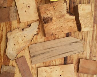 Special bits of timber for inlay and small projects.