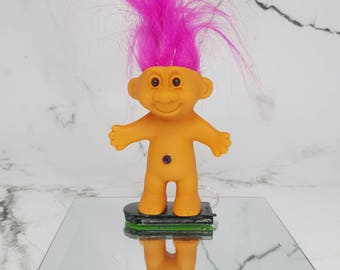 Reworked light up troll statue, ambient lighting, bohemian, gypsy, boho, Plur, room accent