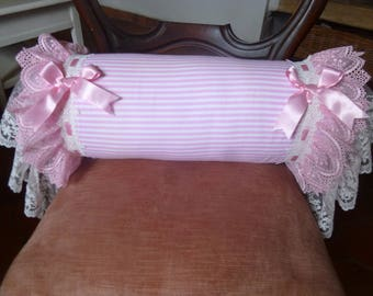 SHABBY CHIC, PINK AND WHITE HARMONY PELOCHON