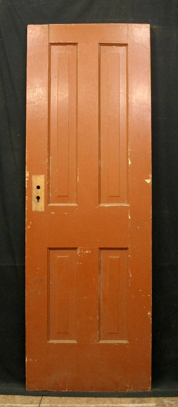24x72 Antique Vintage Victorian Solid Wood Wooden