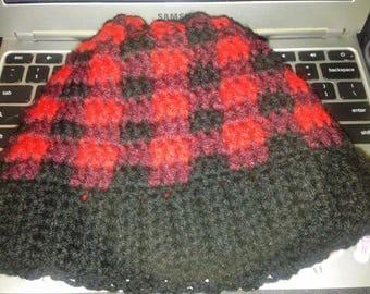 Semi-Custom Buffalo Plaid Hat
