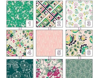 Crib Sheet ... {Floralia Fusion } AGF Studio