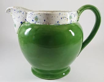 green two toned jug