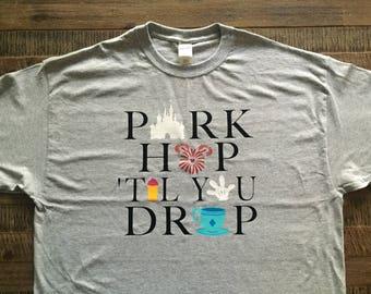Adult - Park Hop Til You Drop
