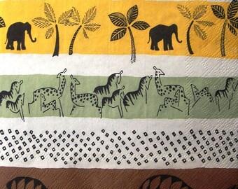 """""""Safari"""" towel"""