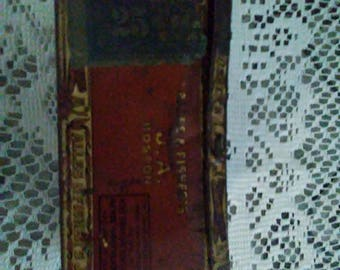 Alles and Fisher Cigar Tin vintage