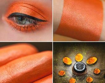 Eyeshadow: Amber Prophetess - Mermaid. Pumpkin foxy eyeshadow by SIGIL inspired.
