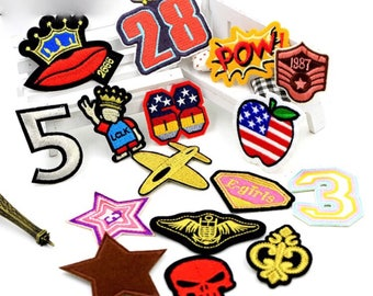 mix 16 patch group set sew on / iron on patch/ badge