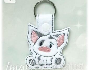 Spotted Pig Key FOB Digital Design File